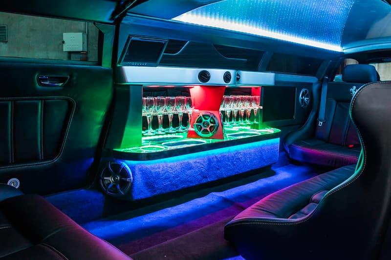 世にも珍しいフェラーリのリムジンが現る ExoticLimo Ferrari 360 Modena Stretch Limo Sale Melbourne Australia Stretch Limo Supercars