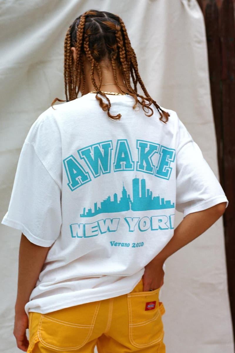"""アウェイク ニューヨークが2020年春夏シーズンのTシャツコレクション""""Re-Up""""をリリース Awake NY Presents Summer 2020 """"Re-Up"""" Tee Collection"""