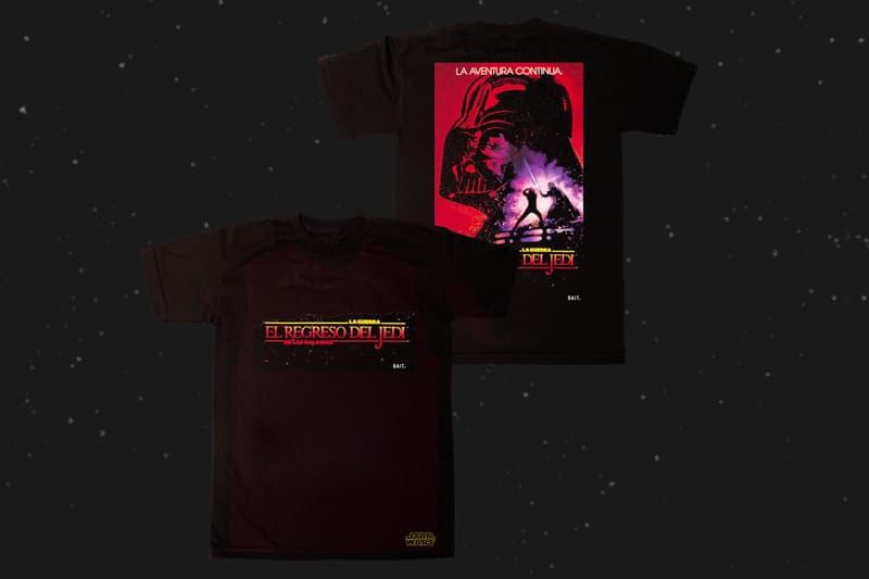 BAIT が世界中の『スターウォーズ』の映画ポスターをフィーチャーしたカプセルコレクションを発表 BAIT International Star Wars Capsule Spanish Polish Classic movies Lucasfilms Disney Empire Strikes Back Return of the Jedi