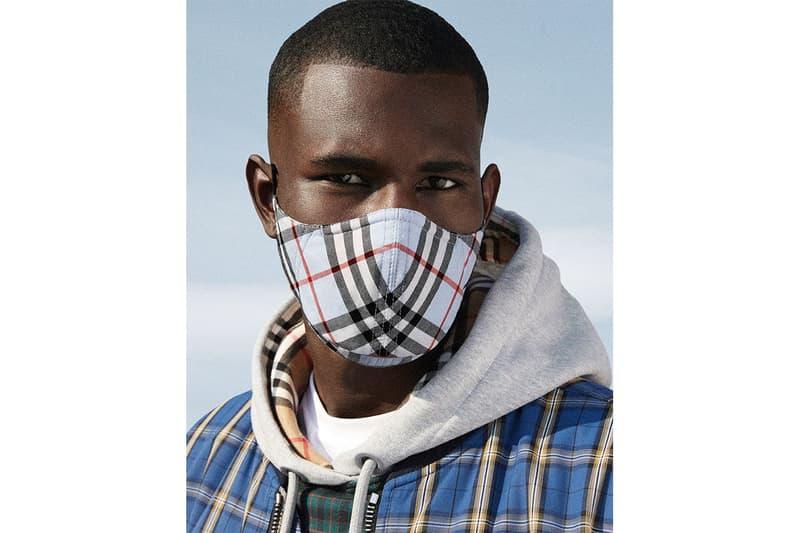 バーバリー Burberry からヴィンテージチェックのフェイスマスクが発売