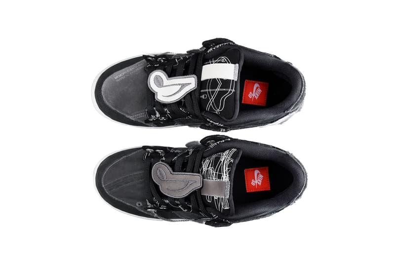 C2H4のYixi Chenがパンク精神全開のカスタム ダンク ローを披露 Yixi Chen of C2H4's Custom Nike SB Dunk Low Shoes