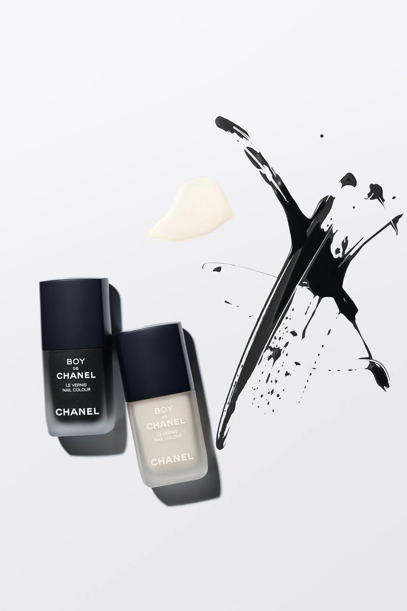 CHANEL の男性用メークアップライン Boy De Chanel から最新コレクションが登場 chanel boy de chanel mens makeup cosmetics nail polish concealer moisturizer eye pencil official release date info photos price store list buying guide