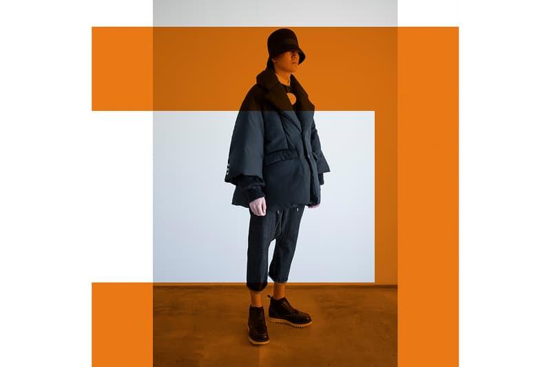 フミト ガンリュウ2020年秋冬コレクション Fumito Ganryu 2020 fall winter collection