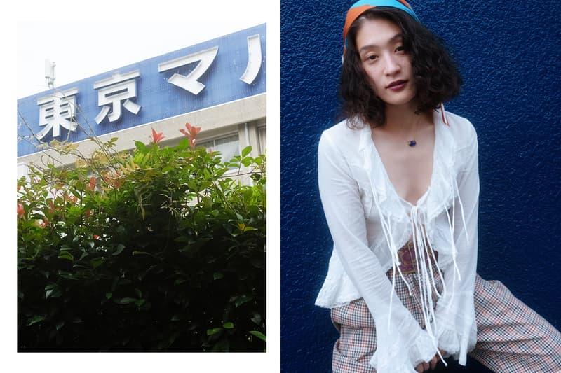 表現者として多岐に渡る活躍を遂げるアーティスト KOM_I コムアイ の感性で着こなす GU のシェフパンツ