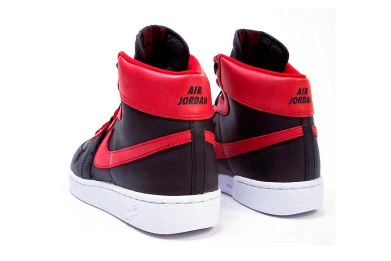 "NBA より着用禁止が命じられた幻の Nike Air Ship ""Banned"" が初復刻リリース Michael Jordan Nike Air Ship Pro Bred Release Back-Door Bottega Raffle Release Info Buy Price"