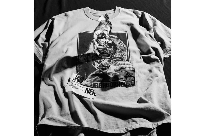 ネイバーフッド NEIGHBORHOOD から河村康輔とのコラボレーションTシャツが登場