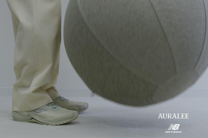 ニューバランス x オーラリーの第3弾となるスニーカー スピードリフトが登場 new-balance-x-auralee-third-collaboration-speedrift
