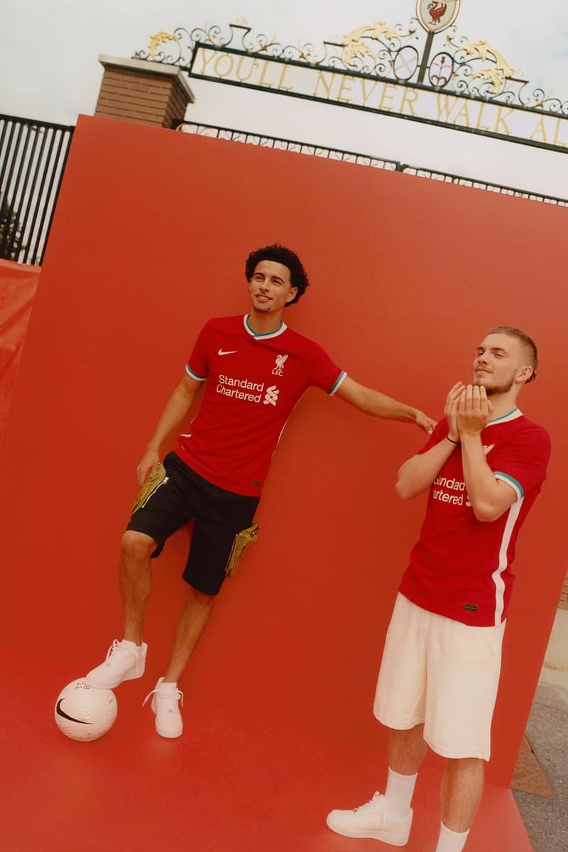 リヴァプールのクラブ史上初めてナイキが手がけたユニフォームをチェック Nike's First-Ever Liverpool UNIFORM 2020-2021 season