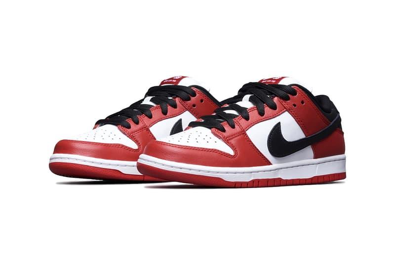 ナイキSBからエアジョーダン1 シカゴを落とし込んだダンクが登場 nike sb dunk low j pack chicago release info footwear shoes sneakers