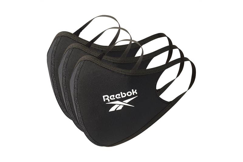 Reebok からソフトな肌触りと通気性の高い素材を使用したフェイスカバーが発売 マスク