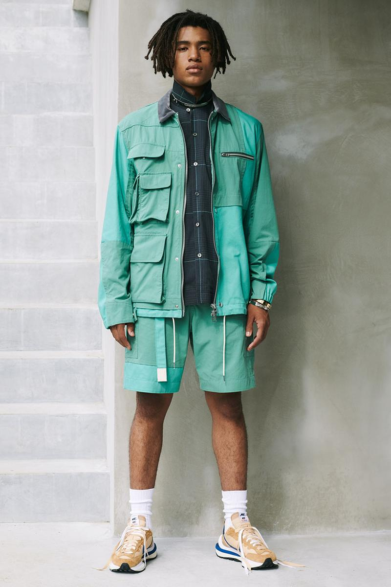 sacai 2021年春夏メンズコレクション サカイ 〈Nike〉とのコラボによるVaporwaffleの新カラーやBlazer Lowも登場