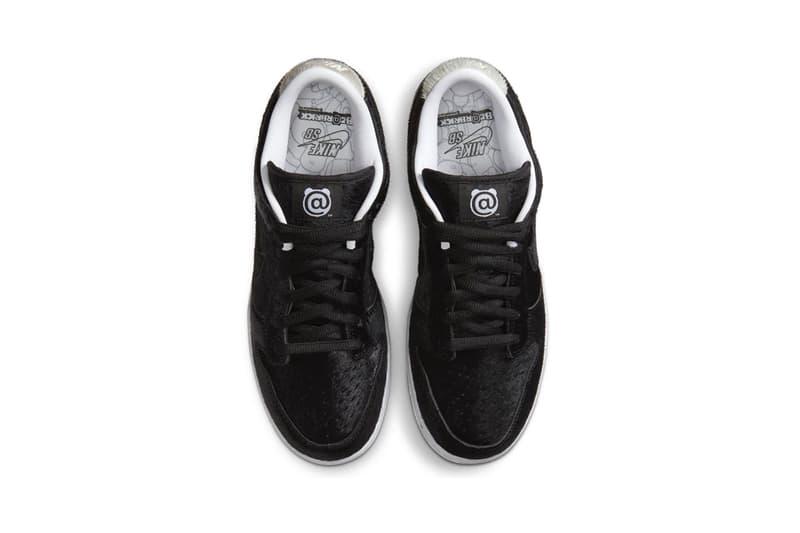 ナイキSB x メディコムトイのダンク Nike SB x MEDICOM TOY の最新 Dunk Low が SNKRS に登場