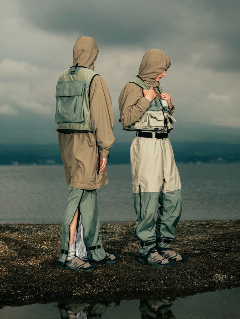 東京デザインスタジオ ニューバランスxスノーピークの第2弾カプセルコレクションがリリース snow peak tokyo design studio new balance capsule collection release