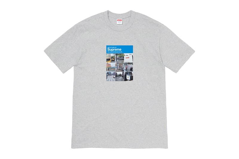 シュプリーム Supreme 2020年秋冬コレクション Tシャツ ボックスロゴTシャツを着用する伝説的サックス奏者 Pharoah Sanders(ファラオ・サンダース)の姿をプリントした逸品から、サイトのログイン時に見かける「私はロボットではありません」の画像選択をモチーフにした遊び心のあるもの、ポップなグラフィックを全面に打ち出したデザインまでラインアップする。