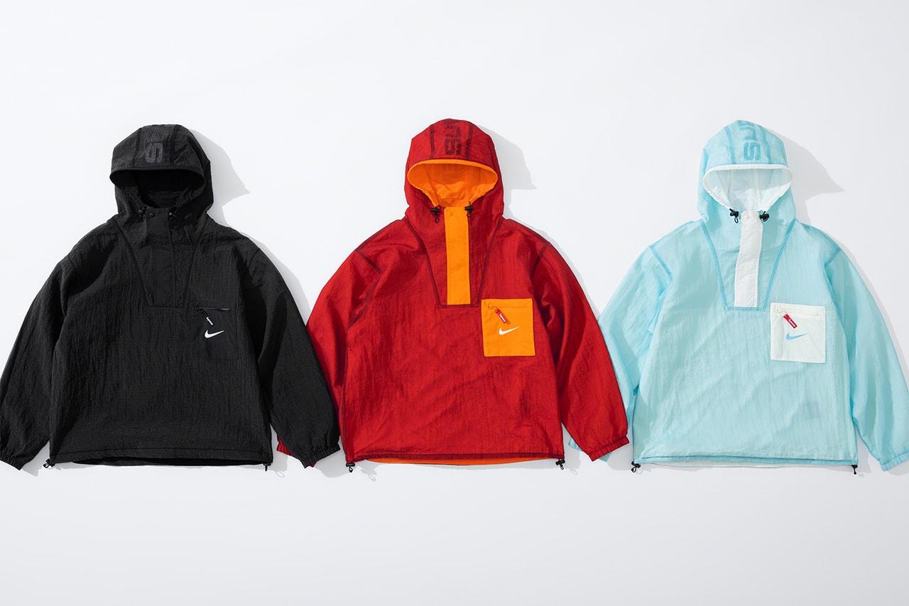 シュプリームx ナイキから2020年秋冬シーズンの最新コラボコレクションが登場 supreme nike fw20 collabo collection release