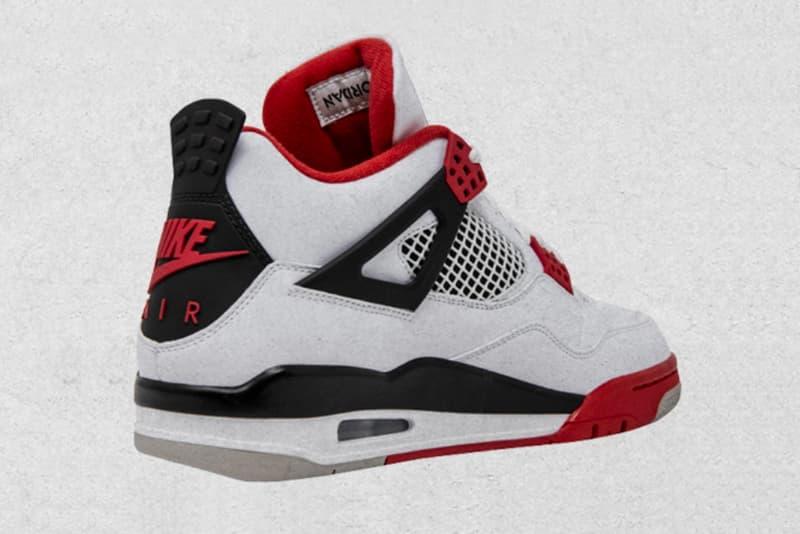 """エア ジョーダン 4""""ファイヤーレッド""""が8年ぶりに復刻リリース The Air Jordan 4 """"Fire Red"""" Receives a Black Friday Release Date"""