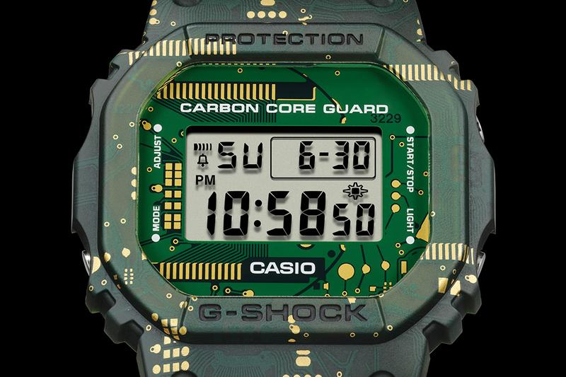 バンドとベゼルが付け替え可能な G-SHOCK が登場 Gショック CASIO's G-SHOCK DWE-5600CC Allows for Interchangeable Bezels straps rubber sports watches Japan Casio