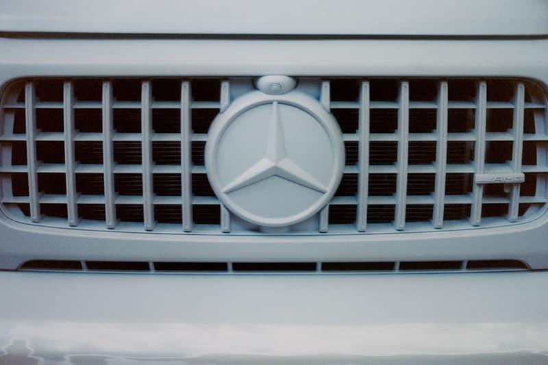 ヴァージル・アブロー x メルセデスベンツの全貌が明らかに virgil abloh x Mercedes-Benz の全貌が明らかに Virgil Abloh mercedes benz unique car g-class release gorden wagener how much one of a kind unique art fashion automotive cars