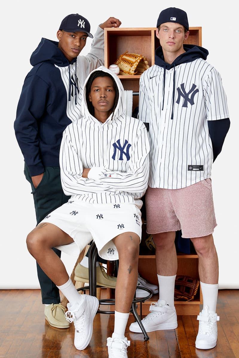 キスがヤンキース & ドジャースとのコラボコレクションを展開 kith ronnie fieg mlb major league baseball new york yankees los angeles dodgers jacket tee hats shirts sweatshirts official release date info photos price store list buying guide