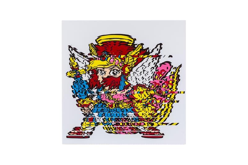 河村康輔xビックリマンのコラボアート展が開催 kousuke kawamura bikkuri man collab exhibition