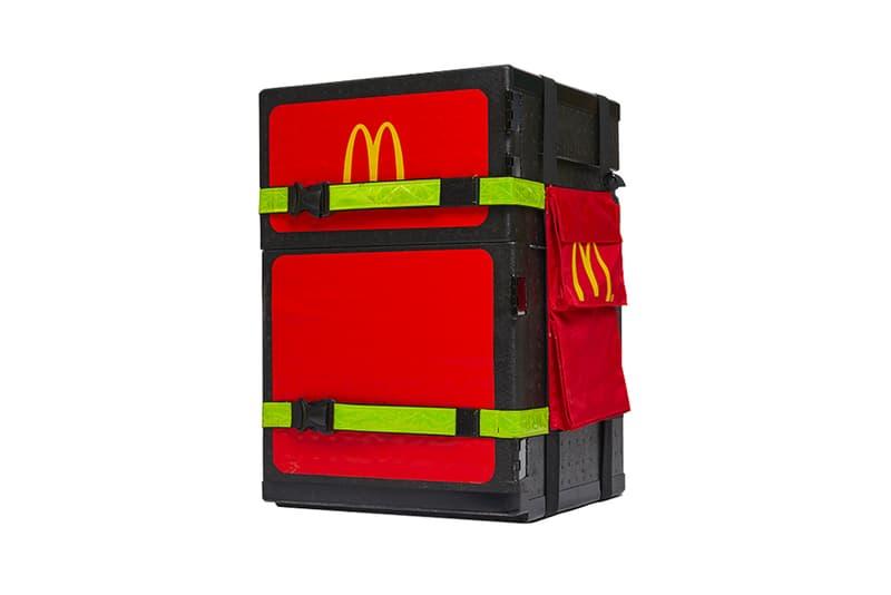 マクドナルドの公式デリバリーバッグがリリース McDonald's Official Delivery Box Release