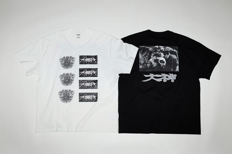 レコードショップ ウェイブよりジャパニーズ・ヒップホップ黎明期のアーティストをフィーチャーしたTシャツがリリース record store wave japanese hip hop artist t-shirts release info