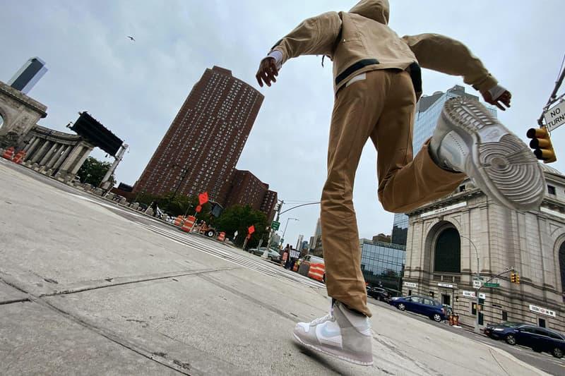 """ナイキxスラムジャムの強力タッグから脱構築的なデザインのダンク ハイがリリース Slam Jam x Nike Dunk """"Light Gray"""" & """"Black"""" Release"""