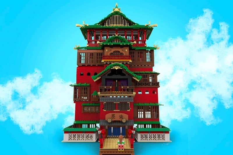 とあるレゴファンが『千と千尋の神隠し』の湯屋を再現し製品化を狙う 'Spirited Away' Bathhouse LEGO IDEAS Info