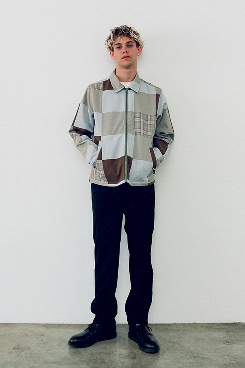 ステューシー 2020年秋コレクション Stussy Fall 2020 Lookbook menswear streetwear collection jackets shirts t shirts graphics sweaters knitwear pants trousers