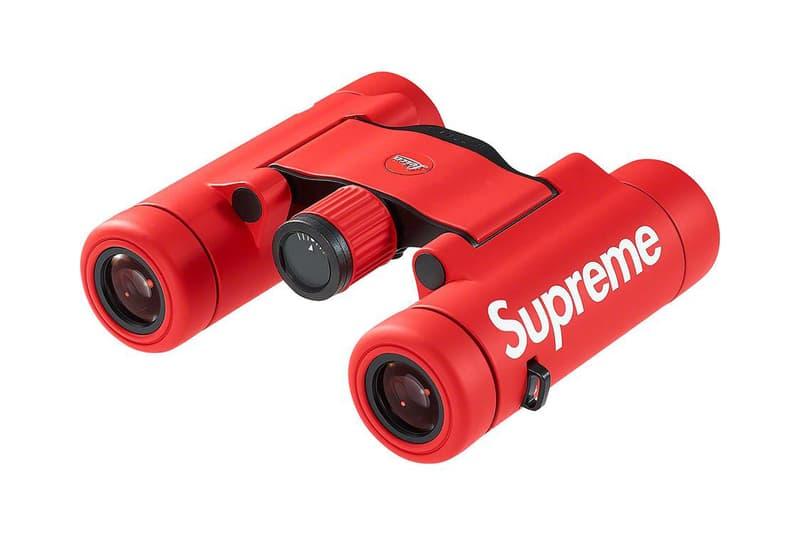 シュプリームxライカのコラボ双眼鏡がリリース Supreme x Leica Ultravid 8x20 Binoculars Release Date