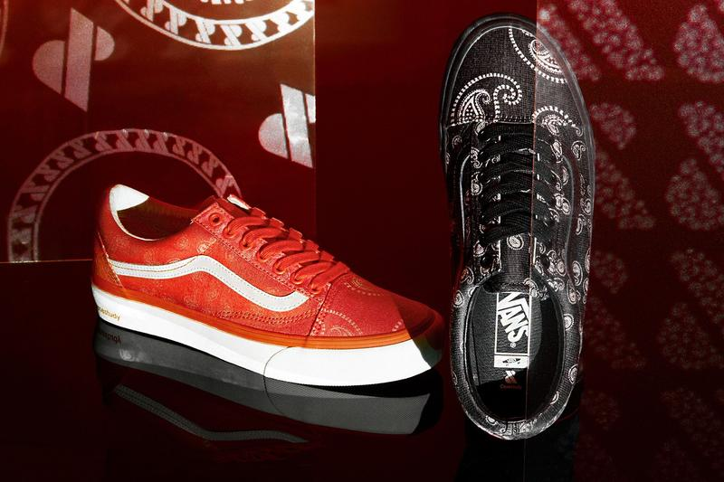 Vault by Vans が韓国のセレクトショップ『Case Study』と第2弾となるコラボフットウェアを発表 Case Study Joins Vault by Vans for a Jacquard Paisley Old Skool sneakers Seoul South Korea skate