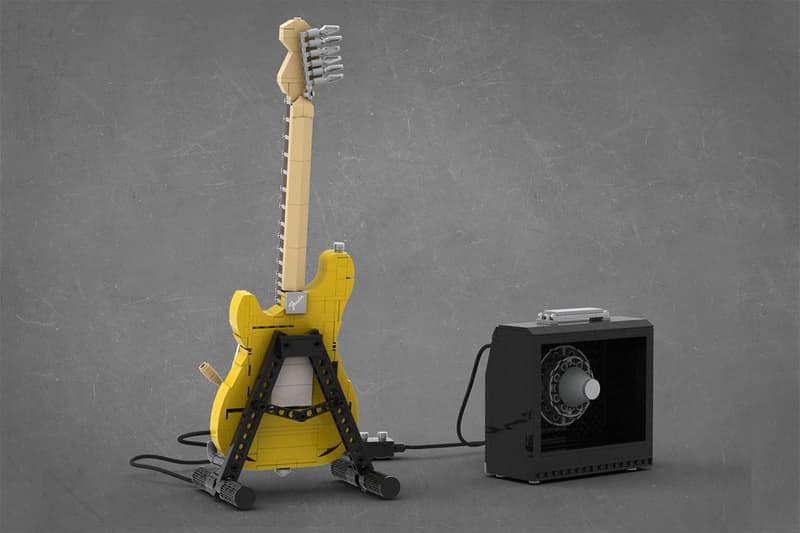 ストラトキャスター フェンダー  Fender STRATOCASTER が商品化 lego レゴ 2020 LEGO IDEAS Fender Stratocaster Winner TOMOELL