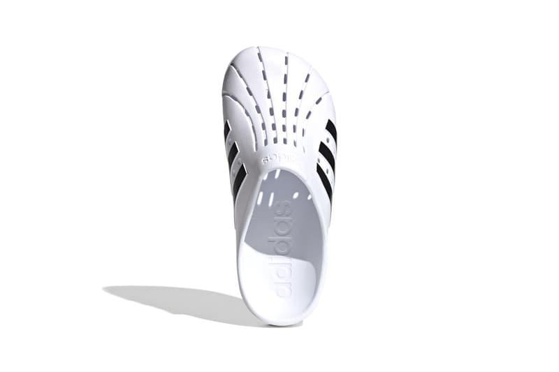 アディダスのアディレッタにサボ型の新モデルが登場 adidas adilette clogs release