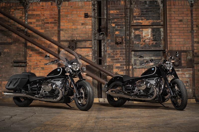 BMW Motorrad が新型 R18 と機能がアップグレードされた R nineT シリーズを発売する bmw motorrad r18 classic r ninet updated models series motorcycles