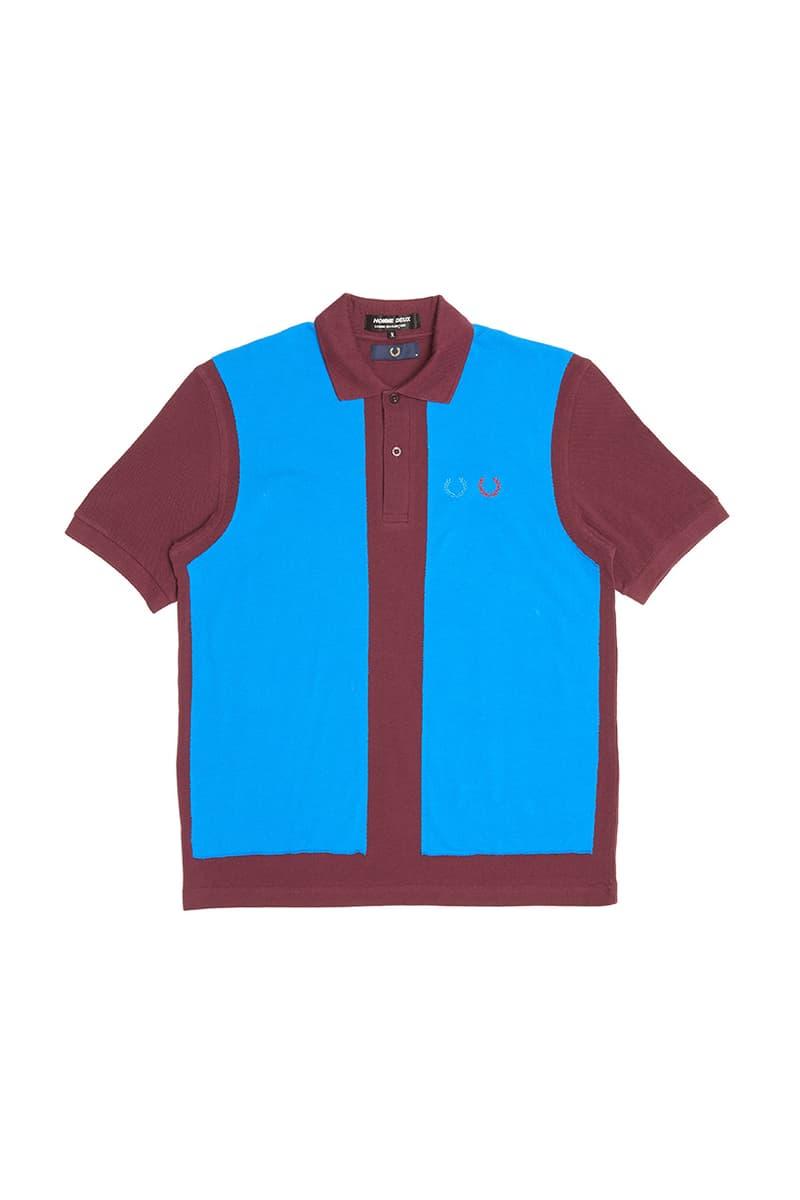 コムデギャルソン x フレッドペリーのコラボピースが登場 comme des garçons Fred Perry polo shirt collaboration homme deux line 2020