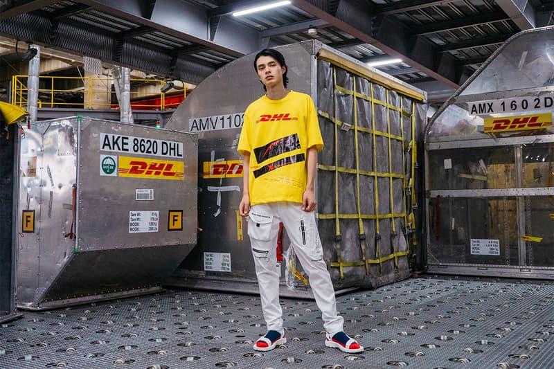 DHL が Rakuten Fashion Week TOKYO で YUKI HASHIMOTO との限定コラボレーションを披露