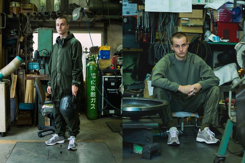 インヴィンシブルxNハリウッドxニューバランスのトリプルコラボ2002Rが誕生 INVINCIBLE x N.HOOLYWOOD x New Balance 2002R Collab