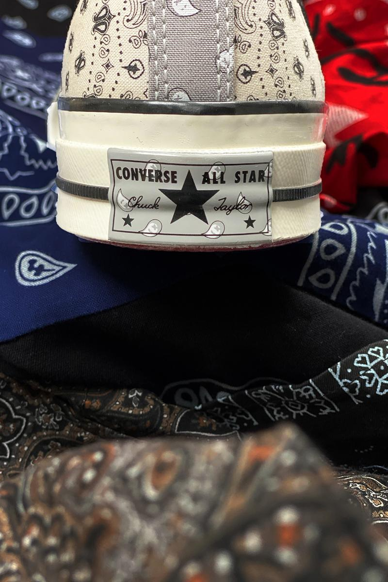 OFFSPRING x Converse がコラボ Chuck Taylor All Star'70 に新色を追加 offspring converse patchwork paisley pastel color block red grey beige black blue green pink buy cop purchase release information