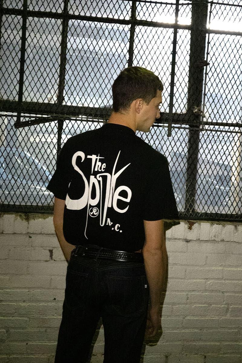 Richardson が80年代から90年代にかけて多くの若者が集ったバー The Spike にオマージュを捧げたアイテムをリリース Richardson releases collab item with The Spike