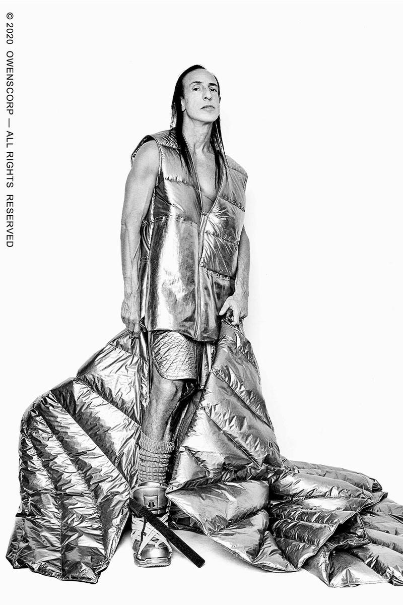Moncler とRick Owens がコラボコレクションを遂に発売 Moncler and Rick Owens collab released