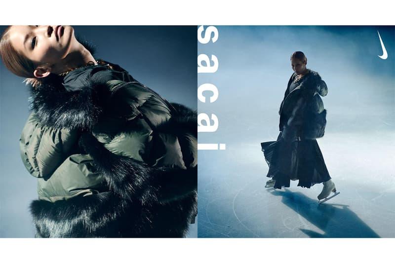 サカイ x ナイキ sacai x Nike から2型のダウンを含むアウターウェアコレクションが発売
