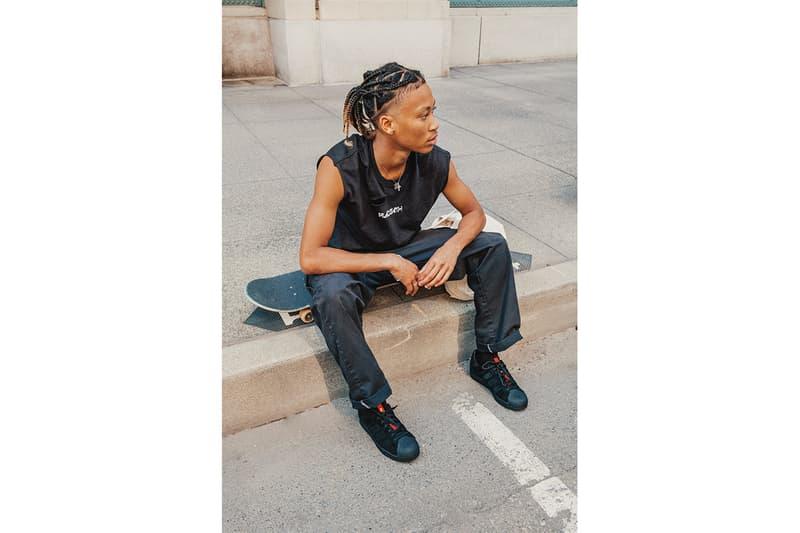 アディダス スケートボーディングxスラッシャーよりタイショーンとスーパースターの2モデルがリリース adidas Skateboarding Thrasher collab footwear TYSHAWN Superstar release