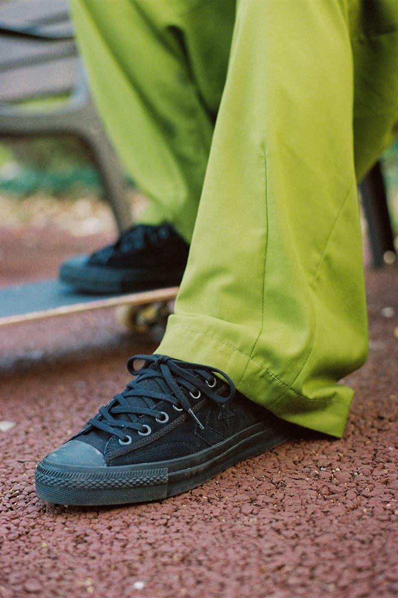 CONVERSE SKATEBOARDING コンバーススケートボーディングからフルブラックの新作スケートシューズが登場