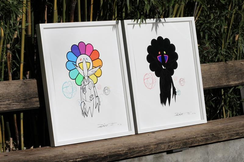 フューチュラと村上隆が共同で制作した限定版プリントが発売 futura takashi murakami noguchi museum prints editions artworks collectibles