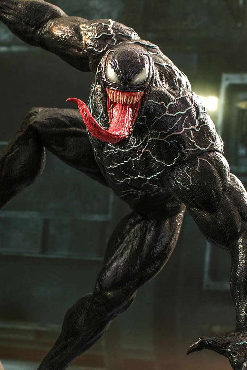 ホットトイズからヴェノムの1/6スケールフィギュアが登場 Hot Toys 1:6-Scale Venom Figure