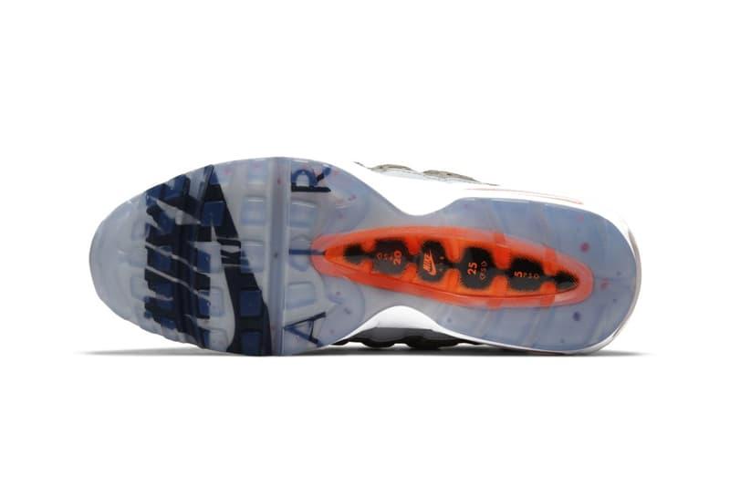 """ナイキxキム・ジョーンズのコラボ エア マックス 95 """"Total Orange""""が発表 Nike Kim Jones Collab Air Max 95 Release"""