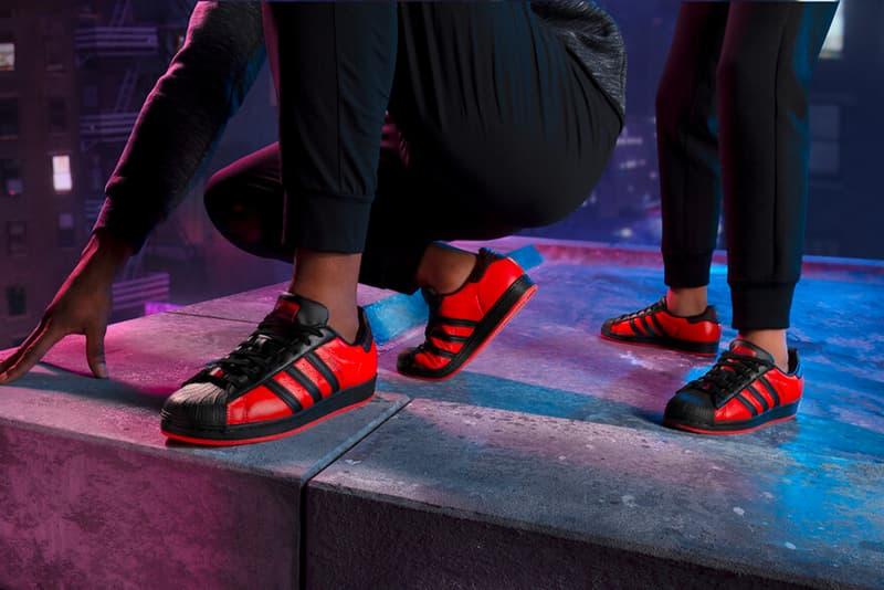 『スパイダーマン マイルズ・モラレス』の発売を記念したアディダス オリジナルスとのコラボスーパースターがリリース 'Spider-Man: Miles Morales' x adidas Originals Superstar