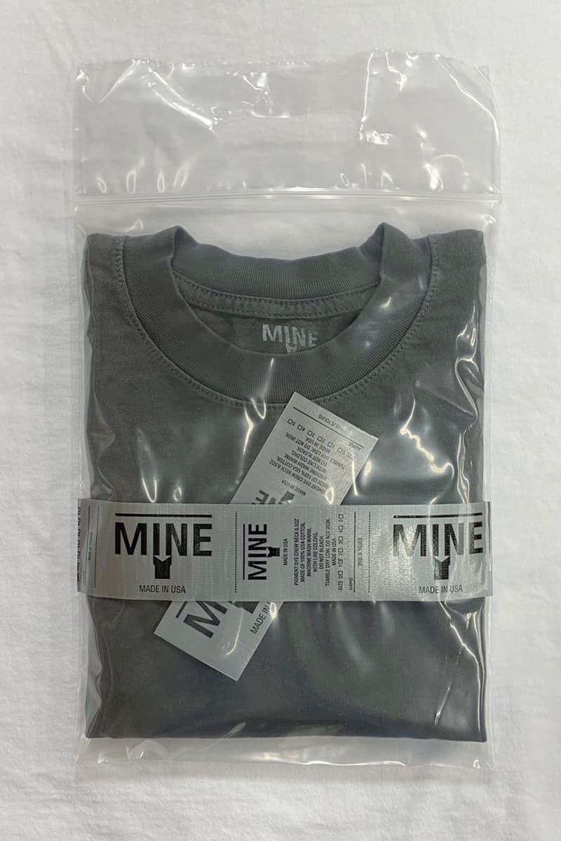 アメリカメイドに拘る日本発の白Tブランド MINE がダークグレーのロンTを限定リリース Mine Limited color project first release