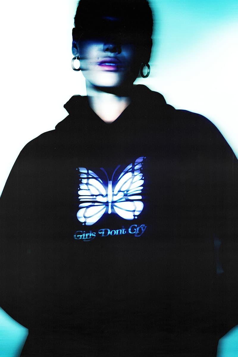 ニードルズ x ガールズドントクライ VERDY(ヴェルディ) Girls Don't Cry x NEEDLES のコラボコレクションが発売