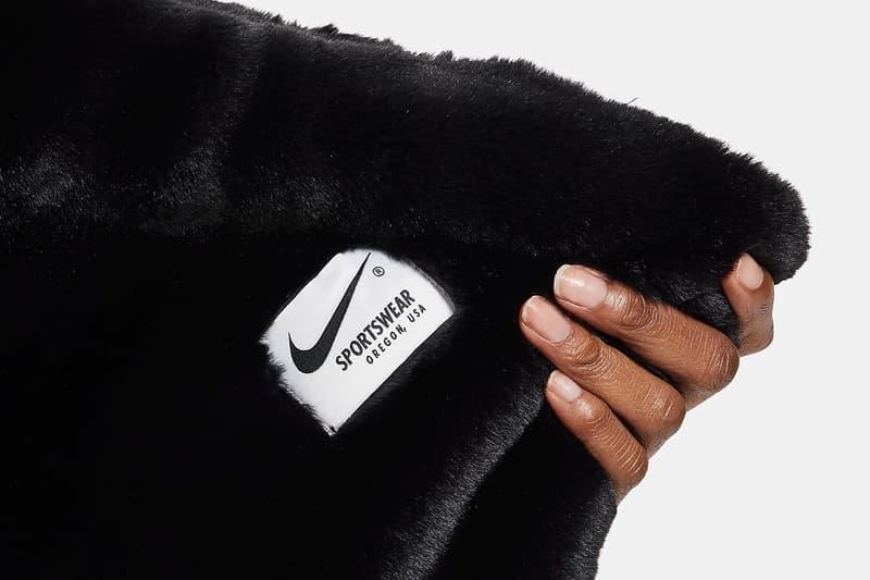 ナイキよりスウッシュが大胆にデザインされたブランケットが登場 Nike Sportswear Plush Swoosh Logo Home Blanket